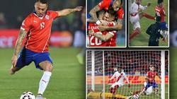 Copa America 2015: Người hùng Vargas đưa Chile vào chung kết