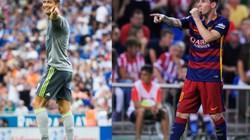 Ronaldo thua xa Messi ở các trận Siêu kinh điển