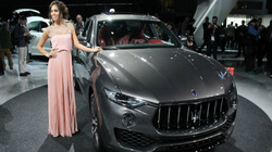 Maserati Levante SUV: Vòm hông cao, mạnh mẽ