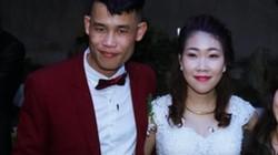 Hiệp Gà rạng rỡ bên vợ trong lễ cưới ở Hưng Yên