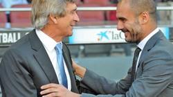 """Mơ Man City đụng Bayern Munich, Pellegrini """"tuyên chiến"""" với Guardiola"""