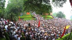 Hàng triệu du khách về dự lễ hội Đền Hùng năm 2016