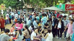 TPHCM: Nghỉ Giỗ Tổ, dân đổ về khu vui chơi tránh nóng