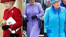 Nữ hoàng Anh thích diện 7 sắc cầu vồng