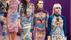 NTK mang tơ tằm Việt tới tuần lễ thời trang Canada