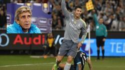Trước đại chiến, HLV Pellegrini cảnh báo Ronaldo