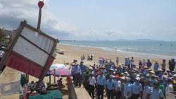 Tạm giữ 2 đối tượng chống đối dọn dẹp bãi biển Vũng Tàu
