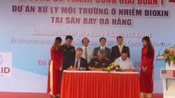 45.000 m3 đất nhiễm dioxin tại sân bay Đà Nẵng đã được làm sạch