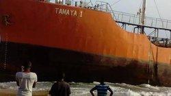 """""""Tàu ma"""" mất tích bí ẩn bỗng cập bờ Liberia"""