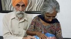 Cụ bà Ấn Độ sinh con đầu lòng ở tuổi 70