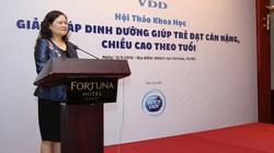 Khẩu phần ăn của trẻ Việt Nam thiếu dinh dưỡng nặng