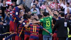 """Kết quả, BXH: Barca vô địch La Liga, """"chốt hạ"""" Bundesliga, Ligue 1"""