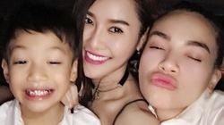 Facebook sao 15.5: Hà Hồ xinh đẹp rạng rỡ bên con trai