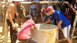 Cả nghìn thanh niên 4 ngày ròng khoét núi lấy nước sinh hoạt