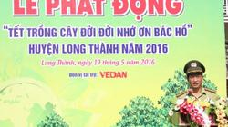 Vedan tài trợ trồng 5.000 cây xanh tại huyện Long Thành