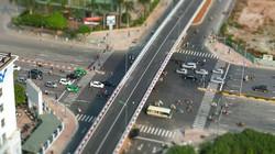 Cận cảnh cầu vượt thép gần 150 tỷ trước ngày thông xe