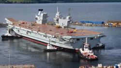 Siêu tàu sân bay Anh sẽ khiến Nga sợ hãi?