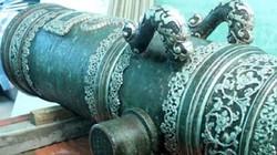 Chuyện ít biết về ba khẩu thần công trục vớt ở biển Hà Tĩnh