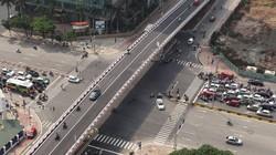 Thông xe cầu vượt thép thứ 8 của Hà Nội
