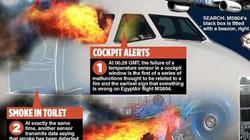 Máy bay Ai Cập mất tích bị xé toạc vì nổ từ bên trong?