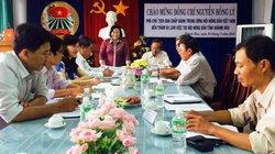 Phó Chủ tịch Hội NDVN Nguyễn Hồng Lý làm việc tại Khánh Hòa