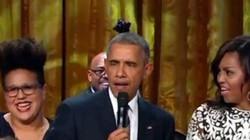 Ngỡ ngàng trước giọng ca ngọt ngào của Tổng thống Obama