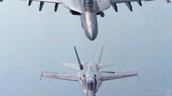 Hai tiêm kích Mỹ đâm sầm nhau trên không, 4 phi công nhập viện