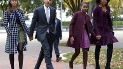 Obama chia sẻ chuyện làm cha sau khi trở thành tổng thống