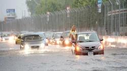 Những chuẩn bị cần thiết cho xế hộp mùa mưa lụt