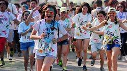 Giới trẻ Hà Nội cuồng nhiệt cùng đường chạy sắc màu