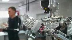 """Nga công bố ảnh chiến binh rô-bốt hình người """"Ivan the Terminator"""""""