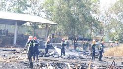 Đà Nẵng: Cháy lớn bãi chứa gỗ, thiêu rụi nhiều tỷ đồng