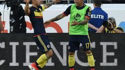 James Rodriguez lập công, Colombia hạ gục chủ nhà Mỹ