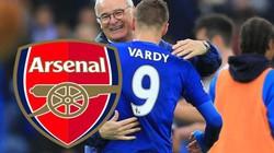 HLV Ranieri xác nhận Leicester bán Vardy cho Arsenal