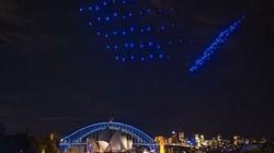 Bầu trời Sydney rực sáng với 100 thiết bị bay