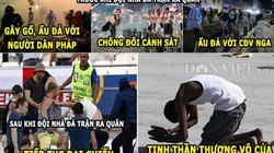 """HẬU TRƯỜNG (12.6): CĐV Anh có tinh thần """"thượng võ"""", Ronaldo """"quăng lựu đạn"""""""