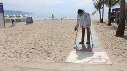 Đà Nẵng: Dành lối đi ra biển cho người khuyết tật