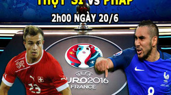 Lịch thi đấu, phát sóng trực tiếp EURO 2016 ngày 19.6