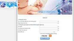 Mở đăng ký tiêm 2000 liều vắc xin Pentaxim vào ngày 22.6