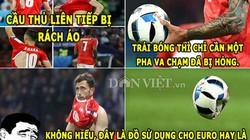 """HẬU TRƯỜNG (20.6): EURO 2016 dùng """"hàng chợ"""", Bale biến thành Tôn Ngộ Không"""
