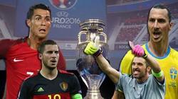 Lịch thi đấu, phát sóng trực tiếp EURO 2016 ngày 22.6