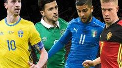 """Cục diện bảng E EURO 2016: """"Cuộc chiến sống còn không khoan nhượng"""""""