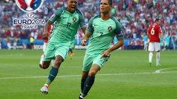 """Clip Ronaldo lập cú đúp giúp Bồ Đào Nha """"thoát chết"""""""