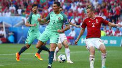 Cận cảnh siêu phẩm đánh gót ghi bàn của Ronaldo