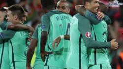 """Clip: Ghi """"bàn thắng vàng"""", Bồ Đào Nha vào tứ kết EURO 2016"""