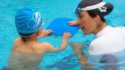 Nguyên tắc cho con khi học bơi an toàn