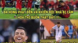 """HẬU TRƯỜNG (27.6): Ronaldo mỉa mai Messi, Griezmann là """"superman"""""""