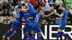 Lạ mắt với hình ảnh ăn mừng chiến thắng lịch sử của Iceland