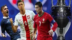 Lịch thi đấu, truyền hình trực tiếp tứ kết EURO 2016