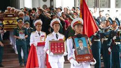 Hà Nội mưa tầm tã ngày tiễn biệt 9 liệt sĩ CASA-212